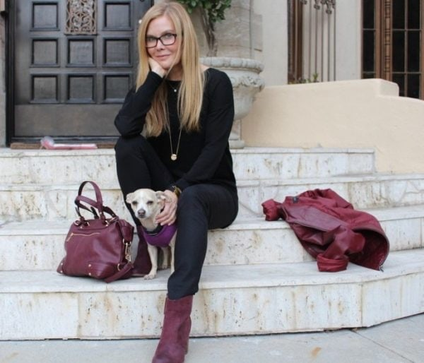 Classic style with an edge, a style interview with Rosemond Perdue 40plusstyle.com