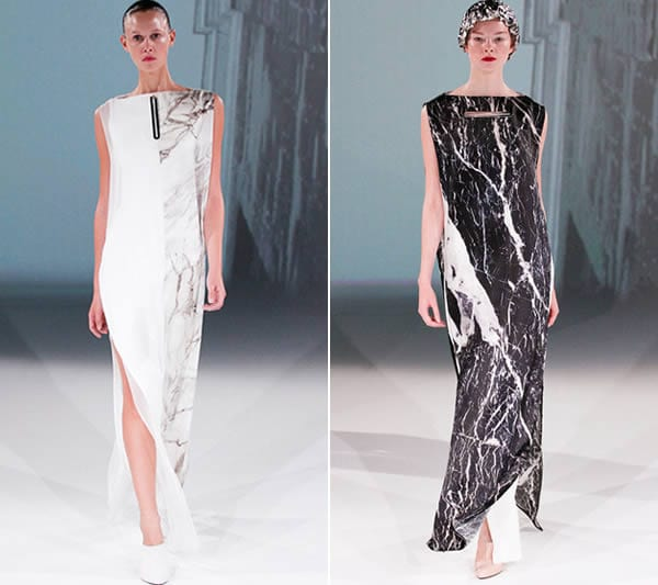 Hussein Chalayan spring 2013 collection