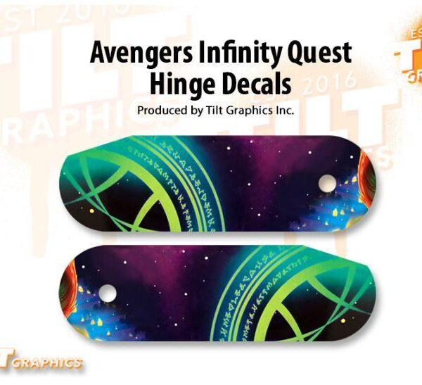 Avengers Infinity Quest Hinge Decals