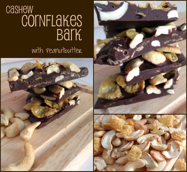 Three Photos of Chocolate Bark
