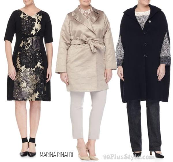 plus size fashion Marina Rinaldi |40plusstyle.com