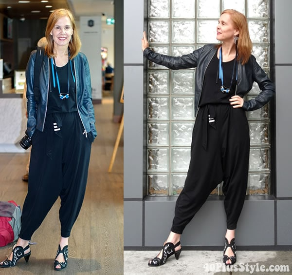 how to wear jumpsuits for women | 40plusstyle.com