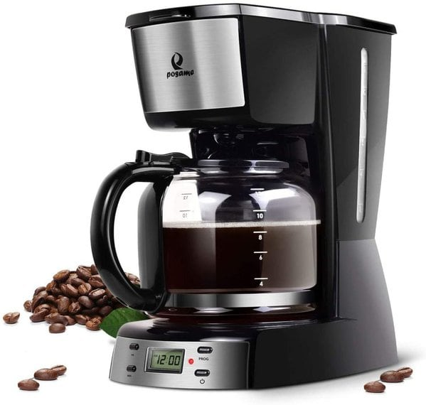 Posame Programmable 1.6QT Carafe Coffee Maker
