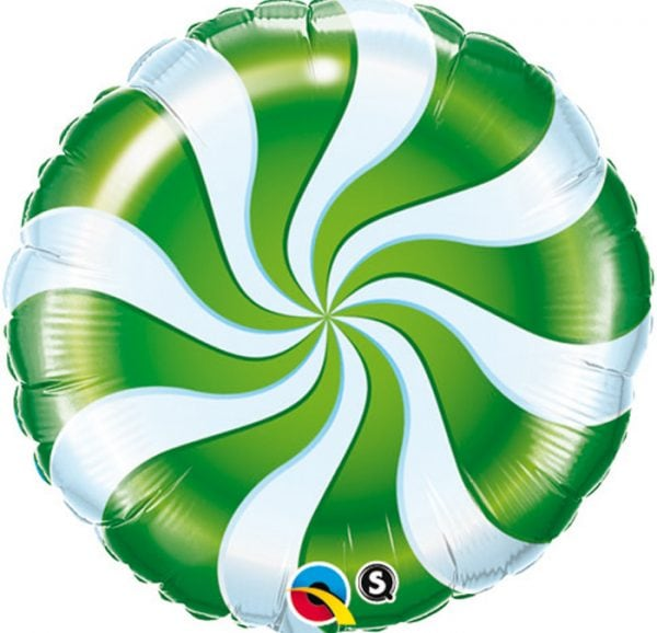 Ballon rond bonbon noël