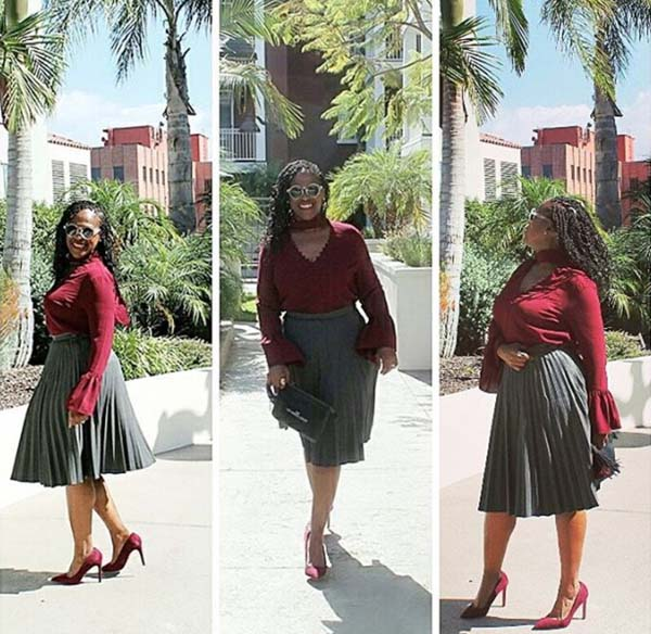 #40plusstyle inspiration: pleated skirt | 40plusstyle.com