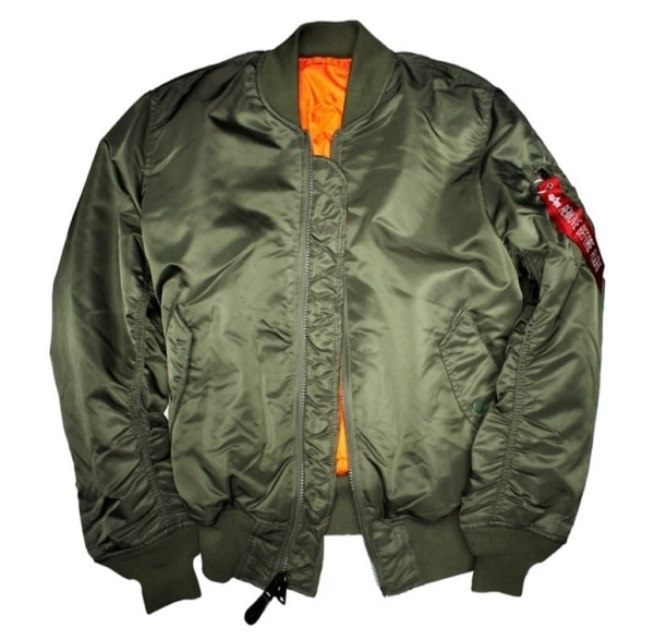 Army Green Military Bomber MA-1 Classic