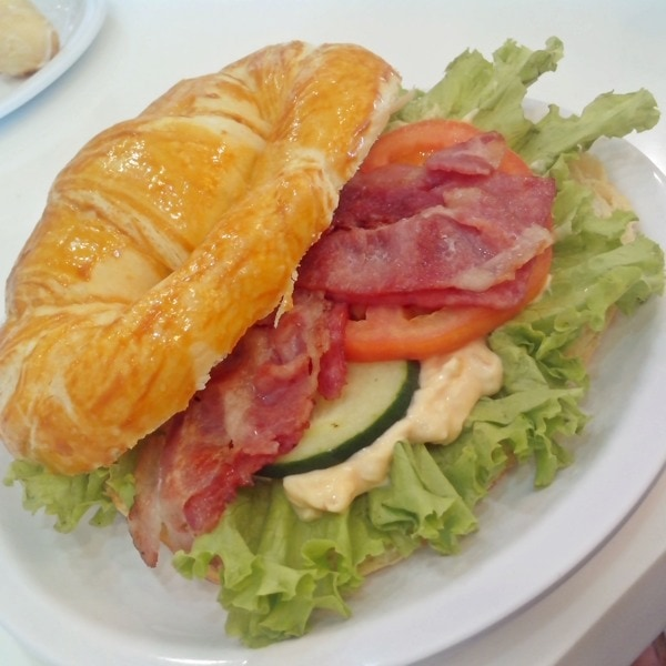 Ham and Bacon Croissant