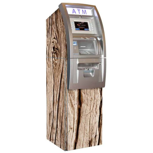 Woody ATM Wrap Distressed Plank