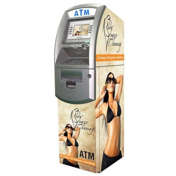 Tranax 1700 Custom SharkSkin ATM Wrap