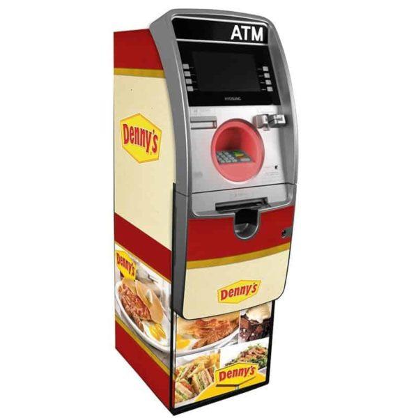 """Hyosung Halo """"S"""" Custom ATM Wrap Shark-Skin NH2600"""