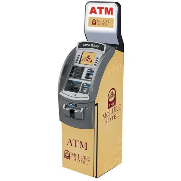 Hyosung NH1800 Slope Top Custom SharkSkin ATM Wrap