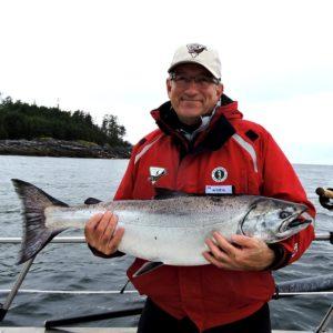 BC salmon fishing info