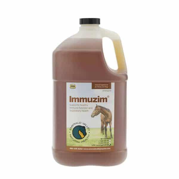 immuzim horse immune booster 1 gallon