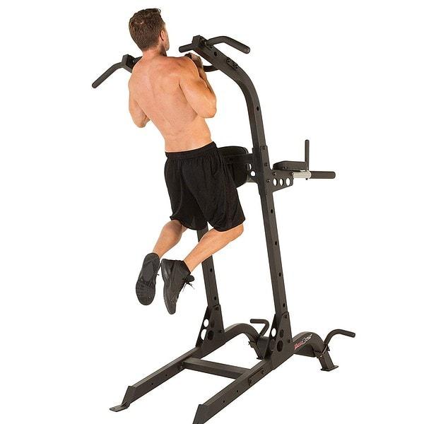 bodyweight workout station