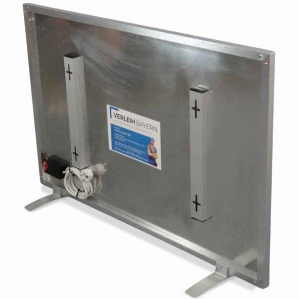 klima center infrarot heiz panel mieten 03 600x600 - Infrarot Heizplatte 580 mieten