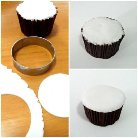 Images of Fondant on Cupcakes