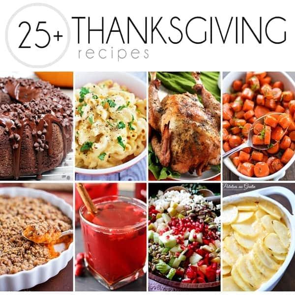 25 Plus Fabulous Thanksgiving Recipes