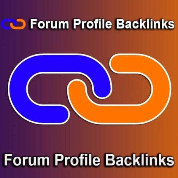 Forum Profile Backlinks
