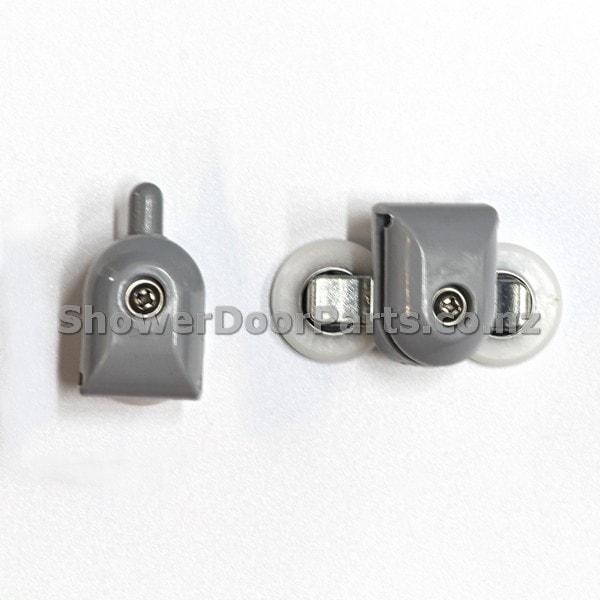 NOB2 & NOT2 - shower door rollers view 3