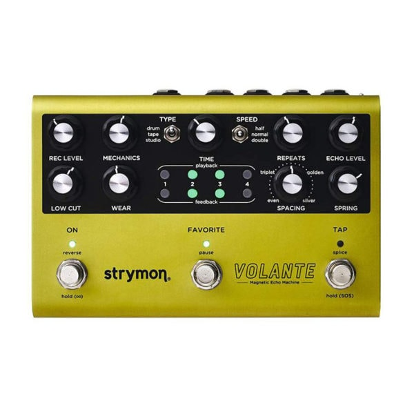 strymon volante echo machine