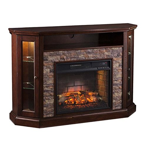 What users saying about Southern Enterprises Redden Corner Electric Fireplace TV Stand?