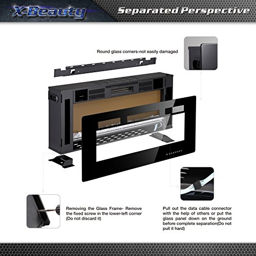 Key Features of the Xbeauty Electric Fireplace