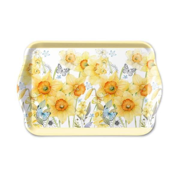 Ambiente dienblad Classic Daffodils 13x21cm