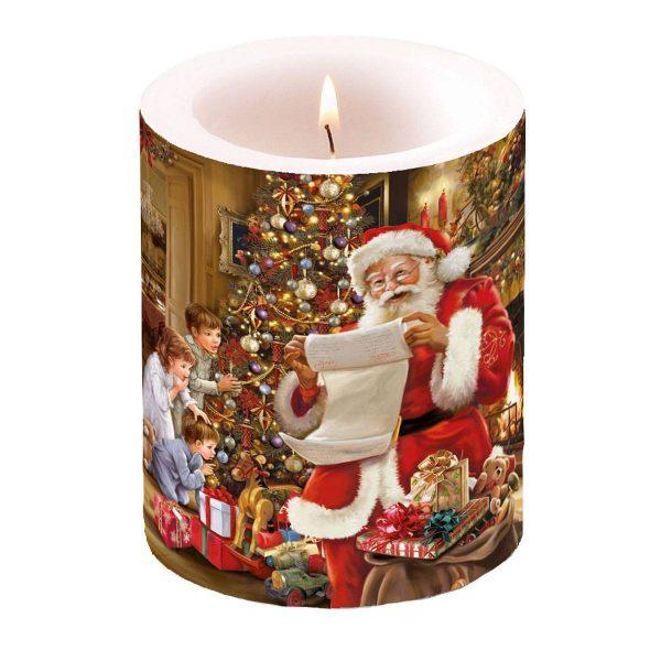 Ambiente kaars Christmas Eve groot