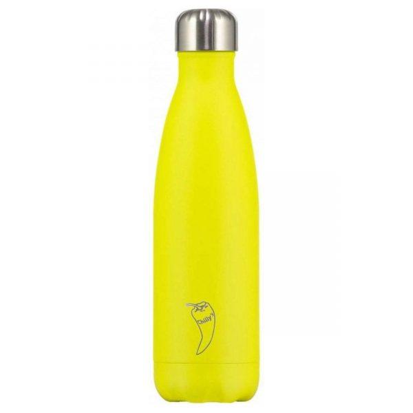 Chilly's Bottle Neon Geel 500ml