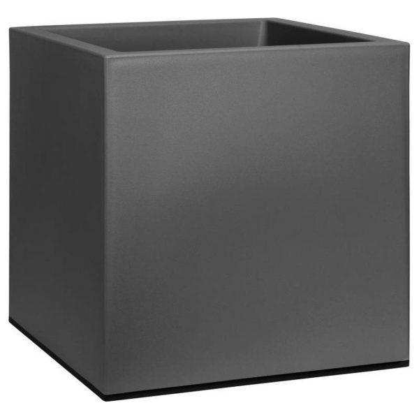 Elho Vivo Matt Finish vierkant Zwart 40 cm zijkant