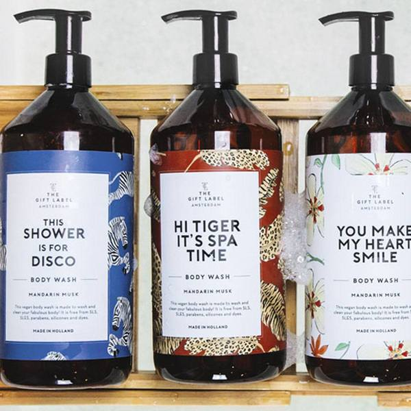 The Gift Label Body Wash Hi Tiger 2