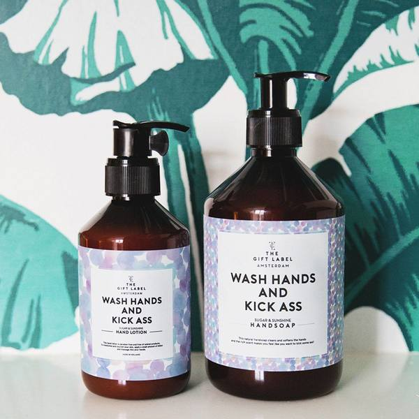 The Gift Label Hand Soap Wash Hands 2