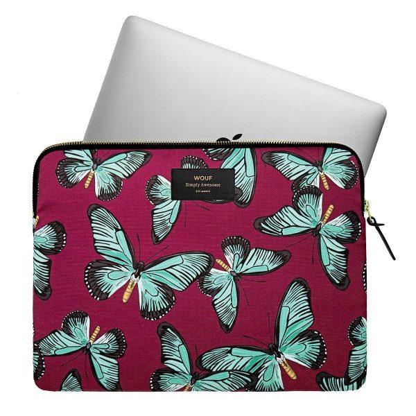 wouf laptopsleeve 13inch butterfly2