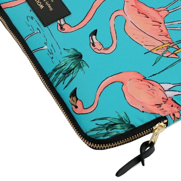 wouf pink flamingos laptophoes 4