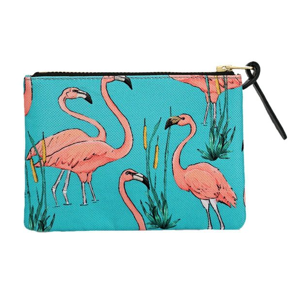 wouf pink flamingos portemonnee small 2