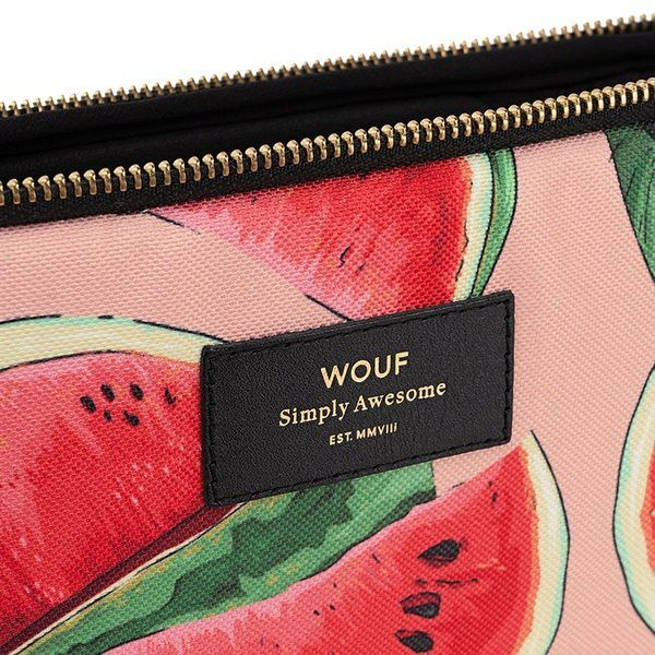 Wouf Watermelon Laptophoes 13 inch detail