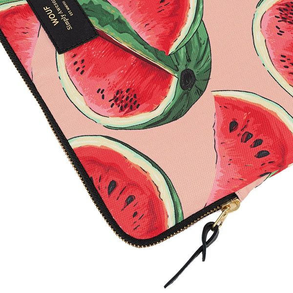 Wouf Watermelon Laptophoes 13 inch rits