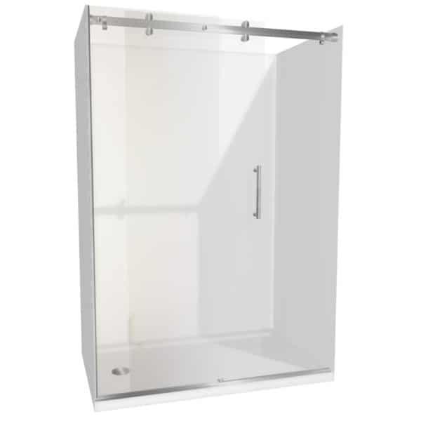 1400 x 900 Urban Dreamline alcove Shower Henry Brooks lh