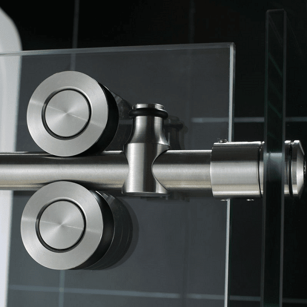 Urban round rail-shower-door-top-rollers