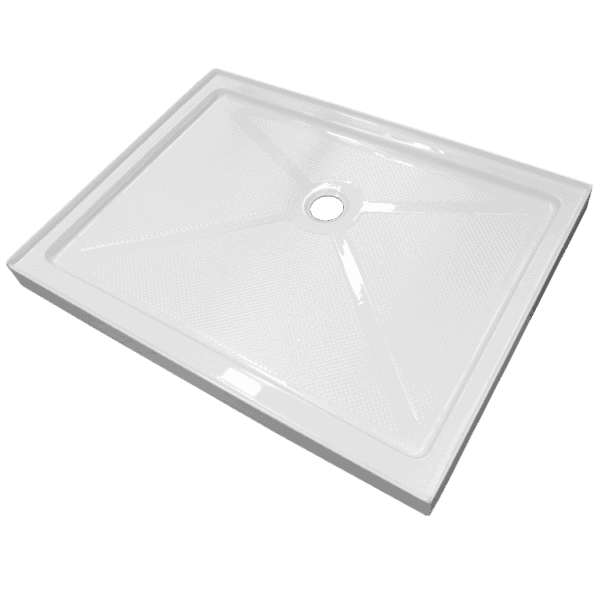 1200 x 900 textured alcove shower tray Henry Brooks
