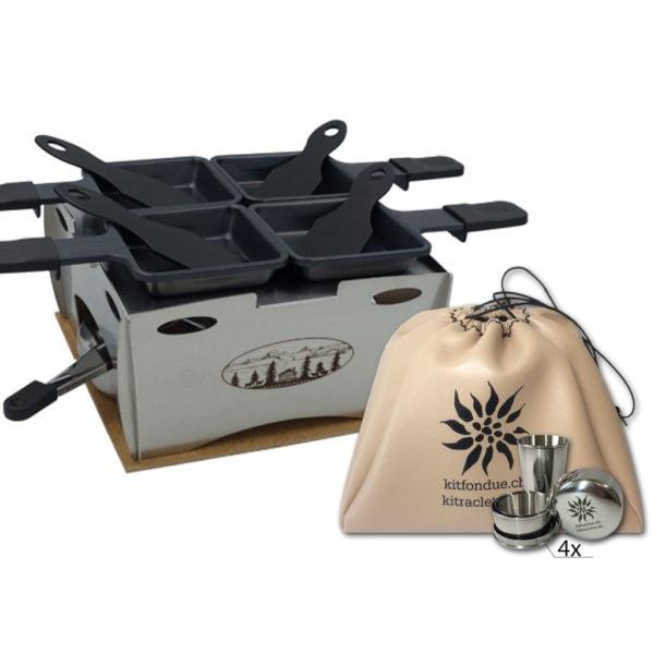 Kitraclette raclette Poya Bundle Family