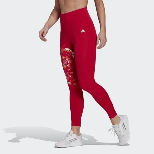 Adidas Farm Rio FeelBrilliant AeroReady High Rise tights - Gymshark Alternatives