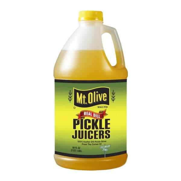 64 oz Bottle of Mt. Olive Real Dill Pickle Juicers
