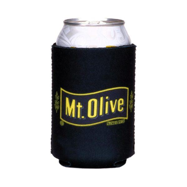 Black Mt. Olive Pickles Can Koozie