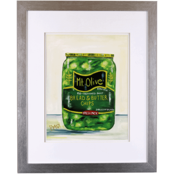 Color Print of Bread & Butter Pickles
