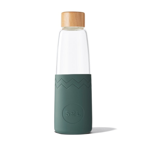 Glastrinkflasche SoL Bottle 850ml - Deep See Green
