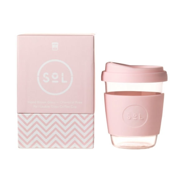 SoL Cup Glaskaffeebecher 12oz -Perfect Pink