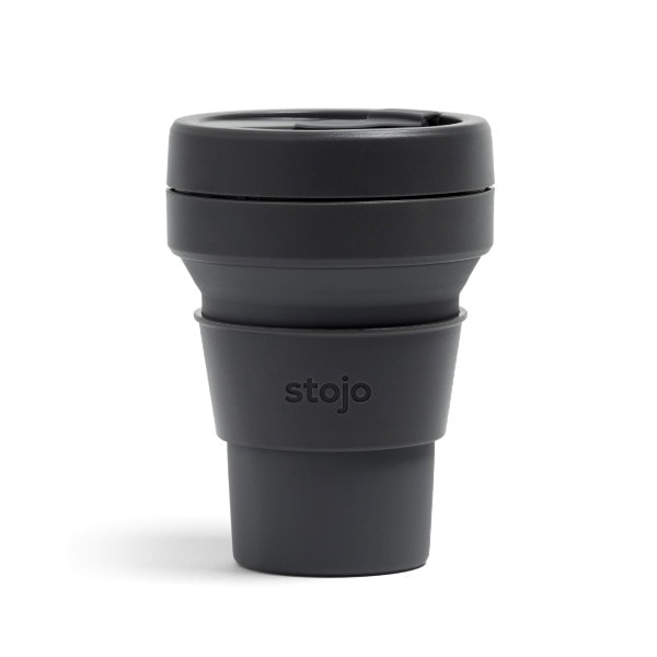 stojo PocketCup - Carbon (Anthrazit-Grau)