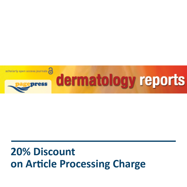 Dermatology Reports Pagepress Journal Discount