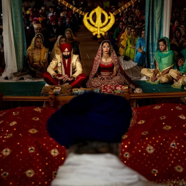 Singh Sabha Gurdwara wedding